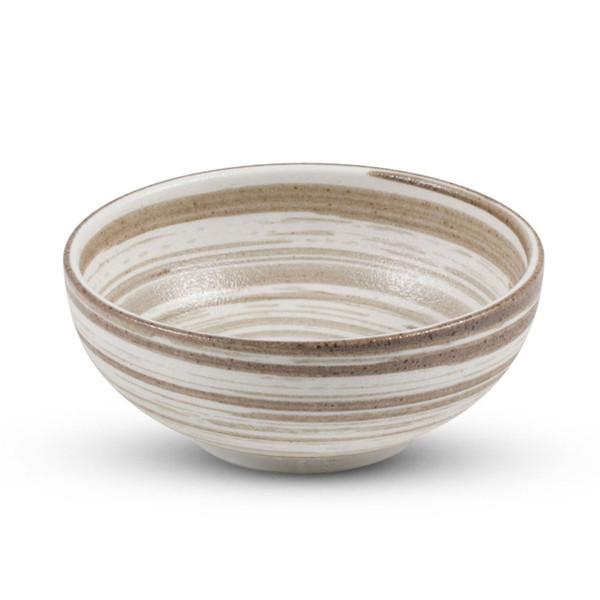 Image of Uzumaki Brown Round Bowl