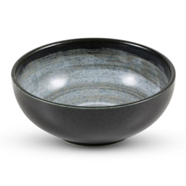 Image of Black Snow Round Bowl