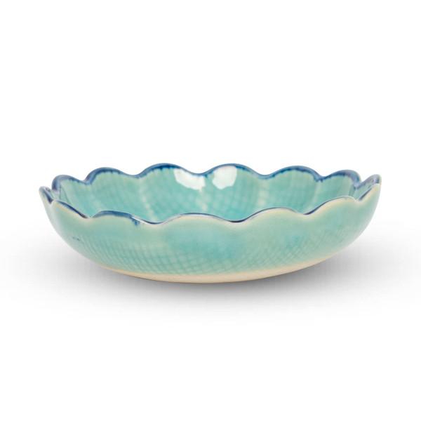 Image of Toruko Turquoise Flower Bowl 2