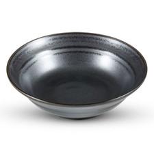 Tessa Black Round Bowl