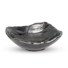 Tessa Black Abstract Bowl