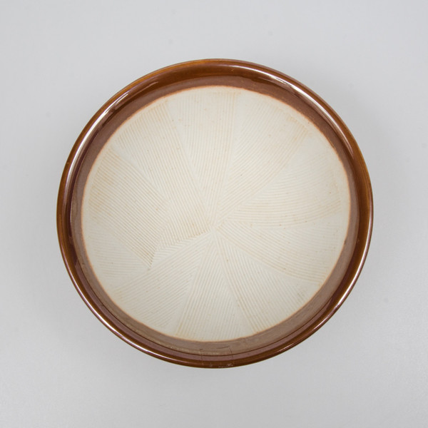 Image of Brown Suribachi Round Motar Bowl 2