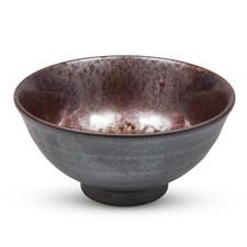 Metallic Brown Round Bowl