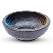 Blue and Brown Fusion Bowl