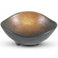 Bizen Black Round Footed Bowl