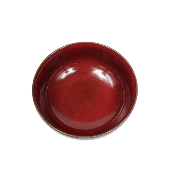 Image of Fusion Red Round Bowl 2