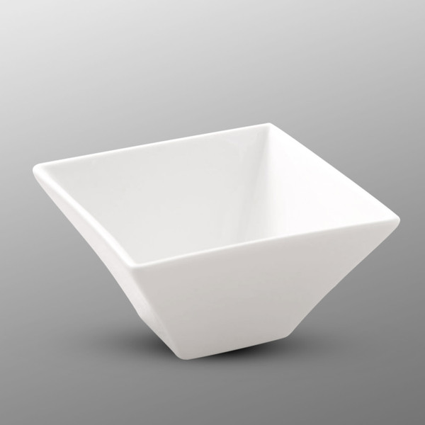 Image of Korin Durable White Square Deep Bowl