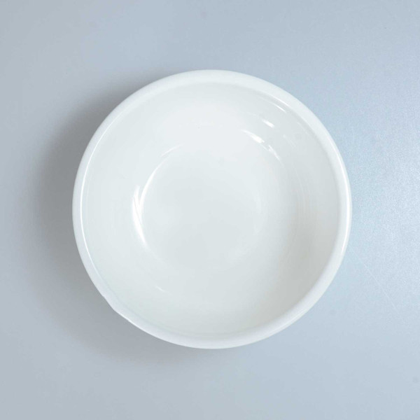 Image of Korin Durable White Round Coupe Bowl 2