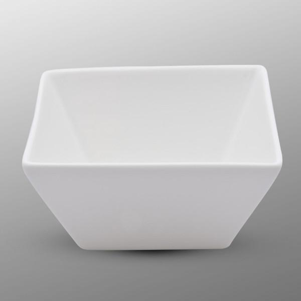 Image of Korin Durable White Square Bowl