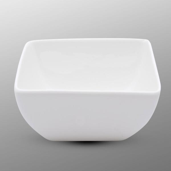 Image of Korin Durable White Square Bowl 1