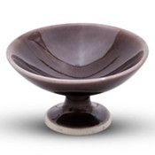 Aki Purple Footed Bowl
