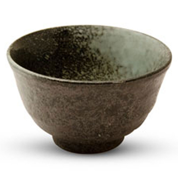 Image of Black Moss Patterned Small Bowl