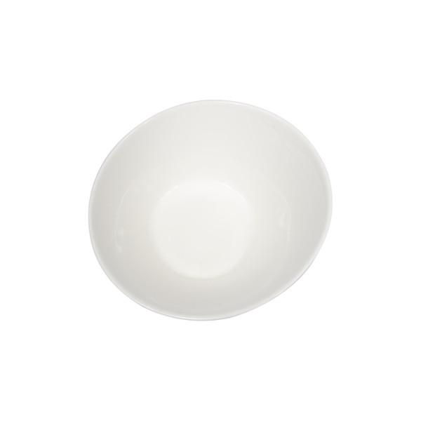 Image of Korin Durable White Round Slanted Bowl 2