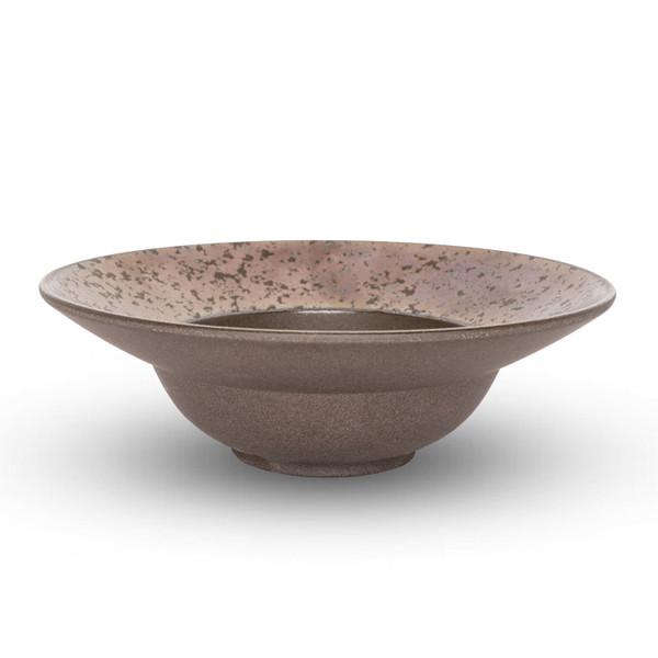 Image of Kouetsu Graphite Round Rim Bowl 2