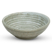 Sougetsu Gray Textured Round Bowl