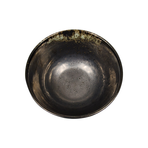 Image of Metallic Slate Gray Round Bowl 2