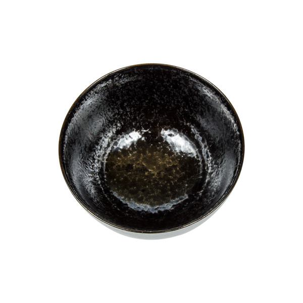 Image of Moss Black Round Bowl 2