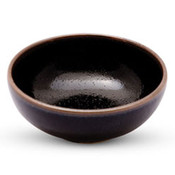Yuzu Tenmoku Black Bowl