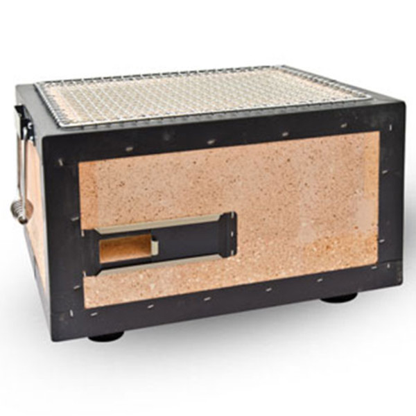 Image of Charcoal Konro Grill with Net - Small 1