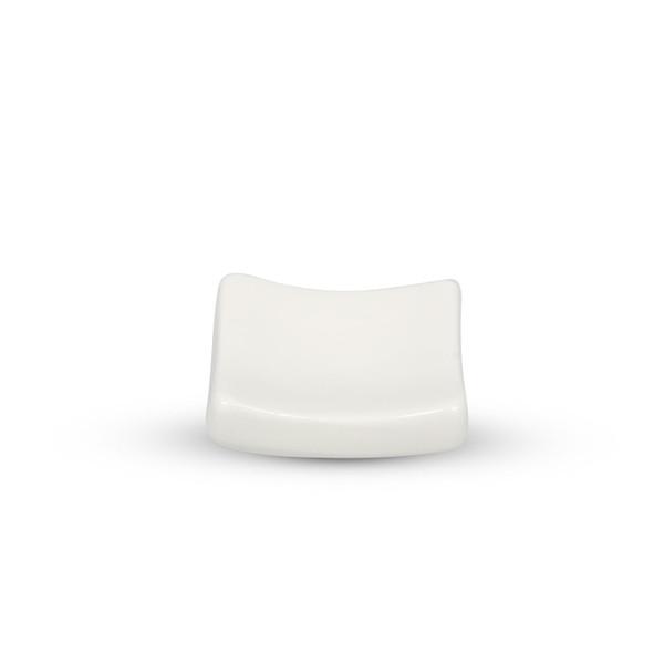 Image of Korin Durable White Rectangular Chopstick Rest