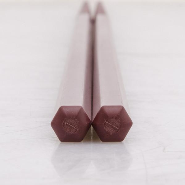 Image of Burgundy Red Non - Slip Melamine Chopsticks 2