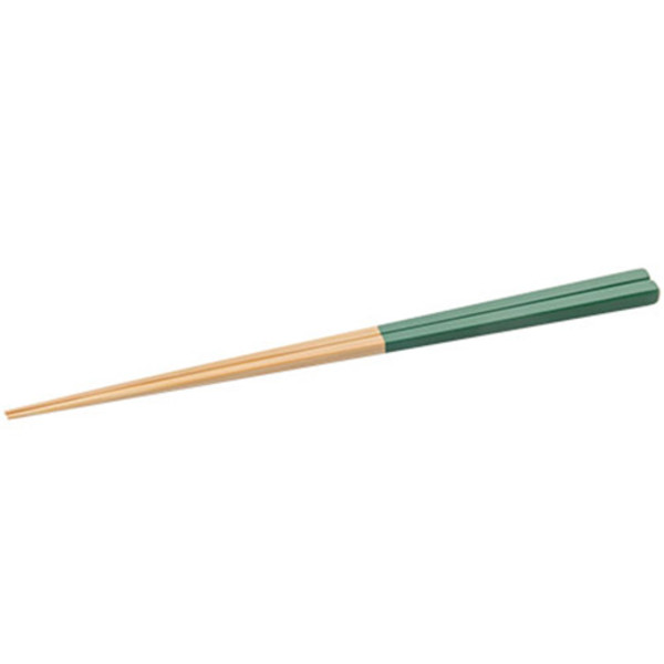 Image of Forest Green Bamboo Chopsticks