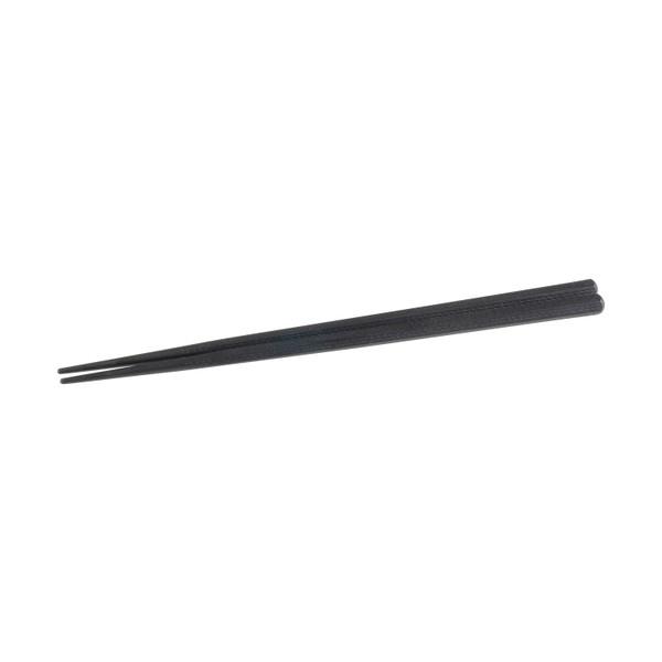 Image of Black Melamine Hexagonal Dashed Chopsticks
