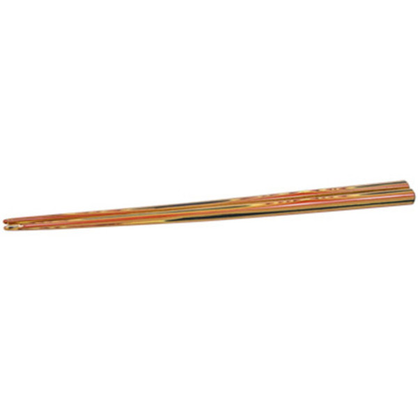 Image of Red Exposed Wooden Chopsticks