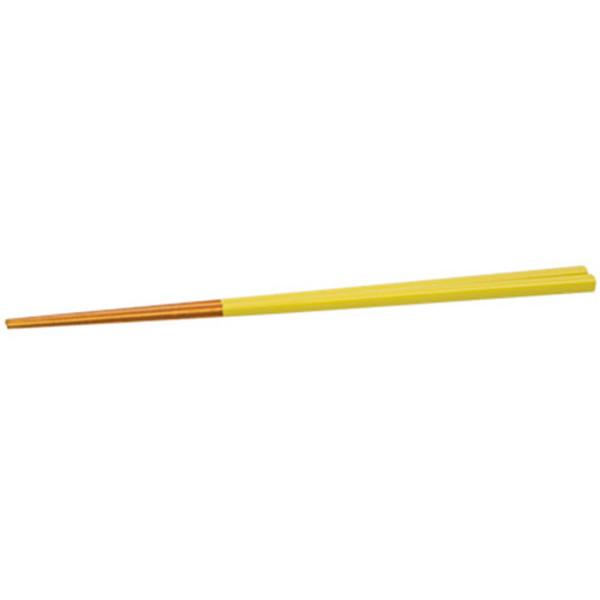 Image of Yellow Wooden Chopsticks