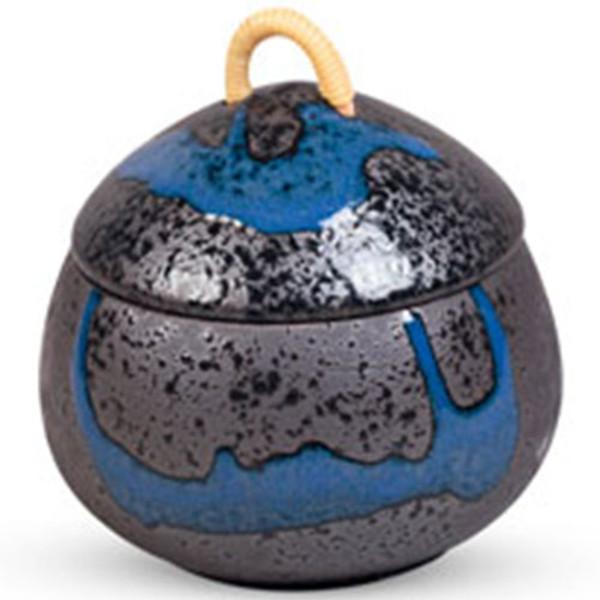 Image of Ao Nagashi Lidded Bowl