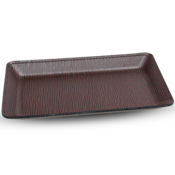 Image of Brown Epi Leather Cash Tray
