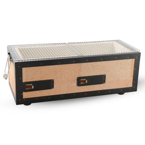 Image of Charcoal Konro Grill with Net - Medium 1