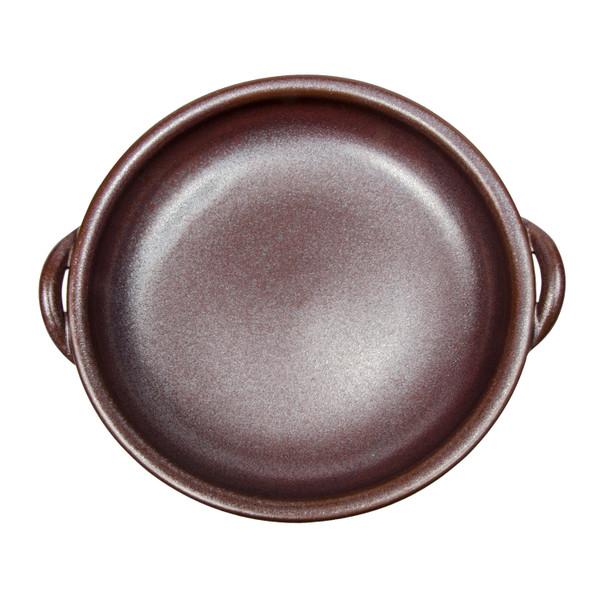 Image of Brown Clay Baking Gratin Pan 2
