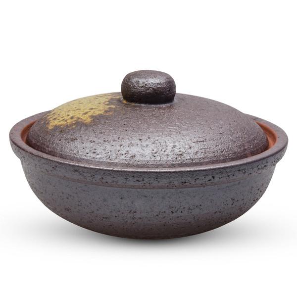 Image of Yakijime Clay Mini Donabe Hot Pot 1