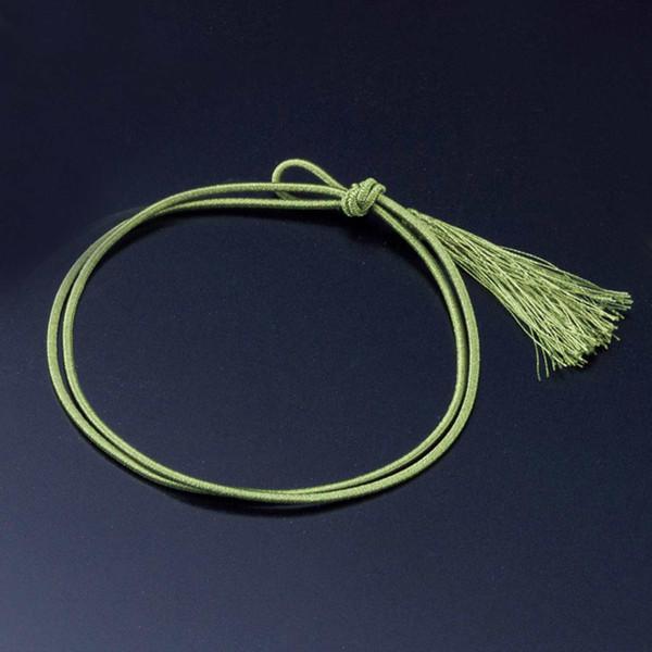 Image of Mizuhiki Wagomu Elastic Gift Ribbon - Dark Green