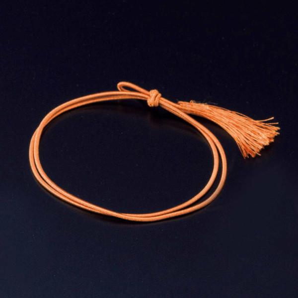 Image of Mizuhiki Wagomu Elastic Gift Ribbon - Orange