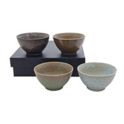 Pacific Forest 4 pieces Rice Bowl set