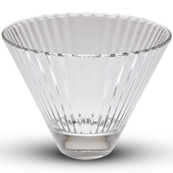 Image of Diva Tall Oval Glass Bowl