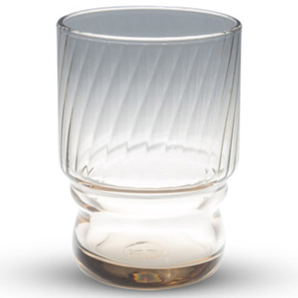 Image of Hard Strong Brown Stackable Glass Cup