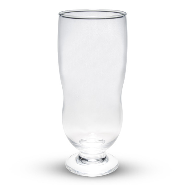 Image of Easy Pour Footed Glass Pilsner Glass