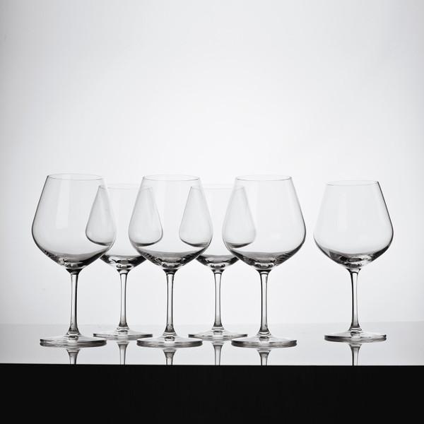 Image of Korin Sena Burgundy Glass 2