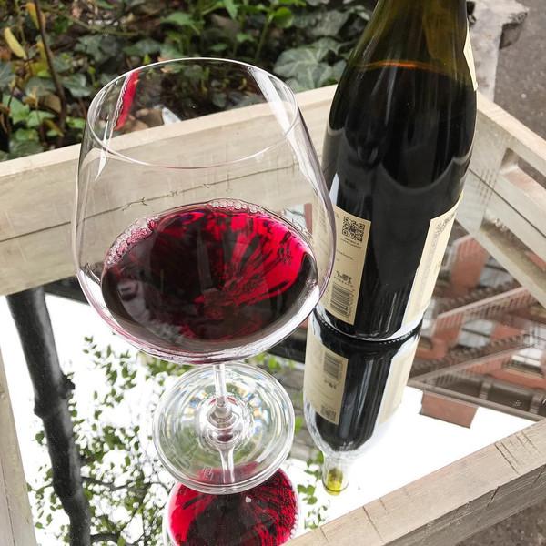 Image of Korin Sena Burgundy Glass 3