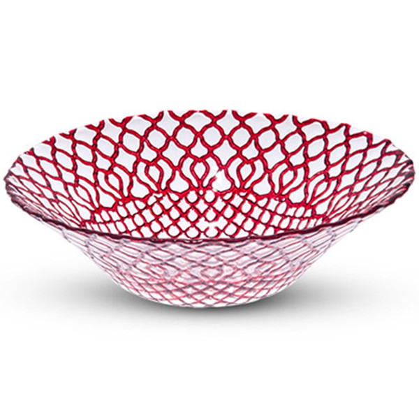 Image of Hana Red Glass Bowl