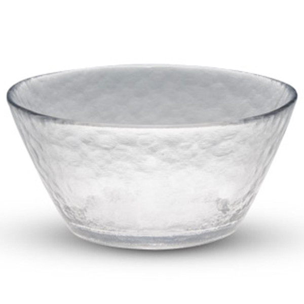 Image of Clear Round Glass Bowl