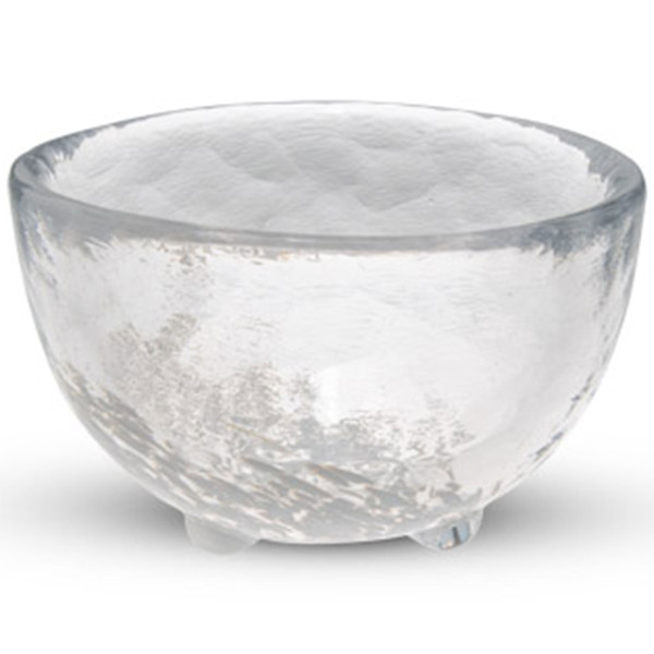 Image of Kurage White Round Sake Glass 1