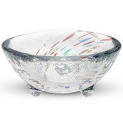 Kurage Clear Round Glass Bowl