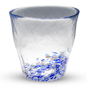 Kurage Blue Tall Glass Cup