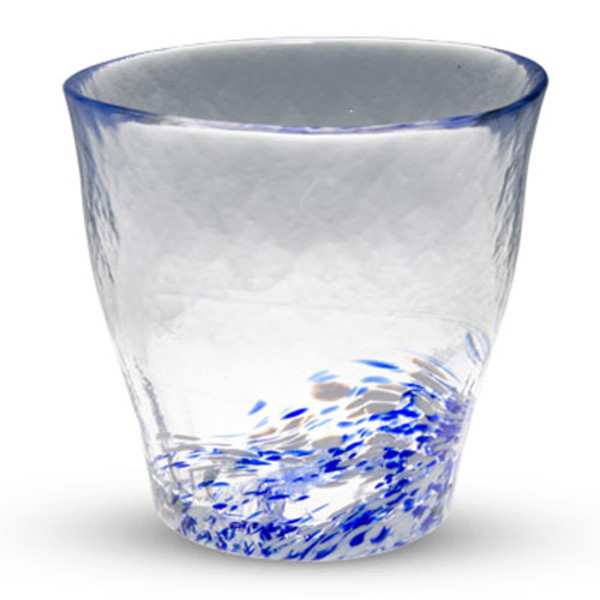 Image of Kurage Blue Tall Glass Cup
