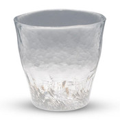 Kurage White Tall Glass Cup
