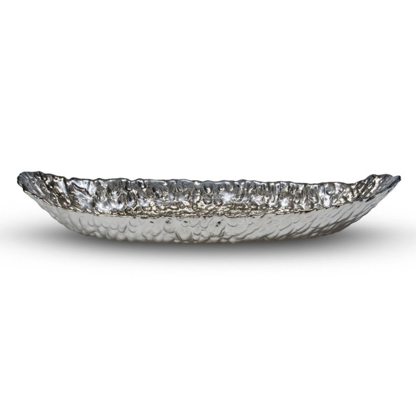 Image of Clear Glass Oval Bowl 2